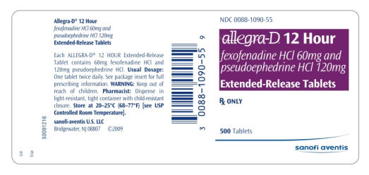 Allegra-D 12 Hour Oral : Uses, Side Effects, Interactions ...